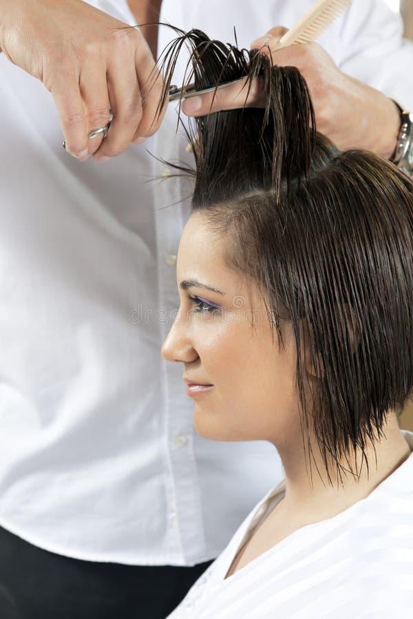 salon de cheveu image libre de droits