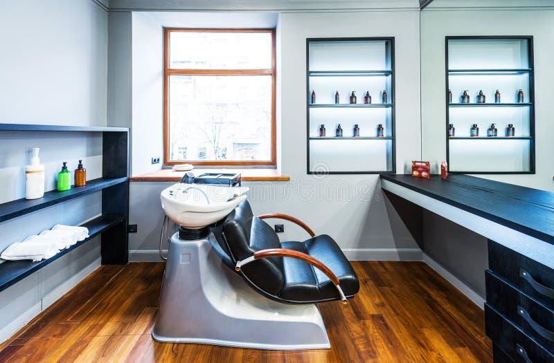 Salon de coiffure photographie stock