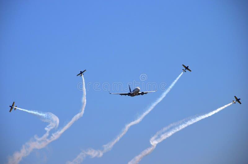 Salon de l'aéronautique - avion 3 photos stock