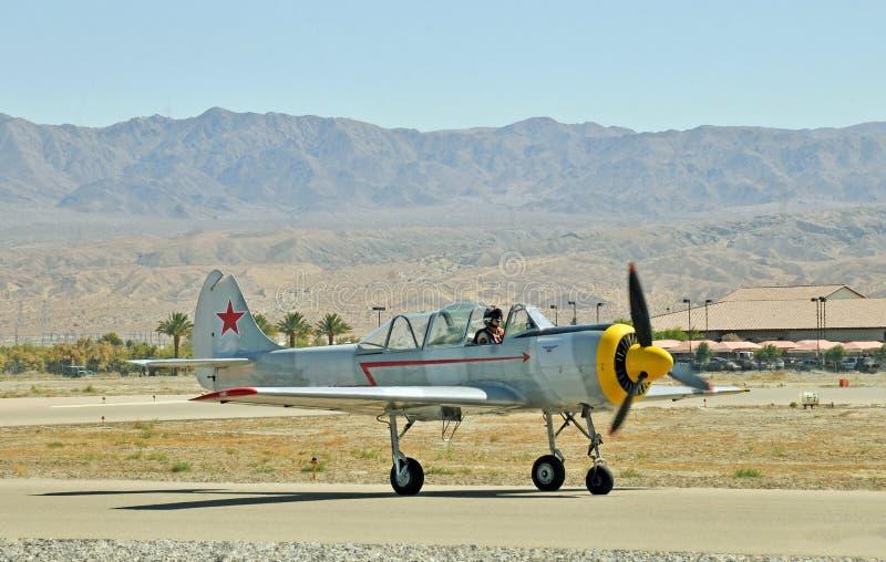 Salon de l'aéronautique thermique : Eagle Squadron rouge image stock