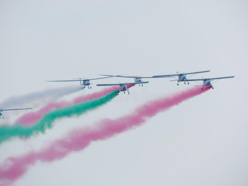Download Salon De L'aéronautique Tricolore De Flèches Tirrenia, Pise, Italie, Le 11 Septembre, 2 Image stock - Image du italie, rendement: 77156209