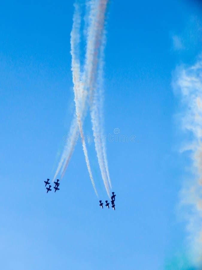 Download Salon De L'aéronautique Tricolore De Flèches Tirrenia, Pise, Italie, Le 11 Septembre, 2 Photographie éditorial - Image du pilote, formation: 77159282