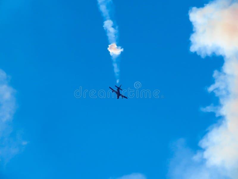 Download Salon De L'aéronautique Tricolore De Flèches Tirrenia, Pise, Italie, Le 11 Septembre, 2 Image stock éditorial - Image du airshow, mouche: 77160899