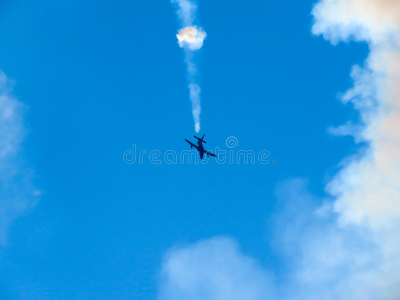 Download Salon De L'aéronautique Tricolore De Flèches Tirrenia, Pise, Italie, Le 11 Septembre, 2 Photo stock - Image du vitesse, équipe: 77163198