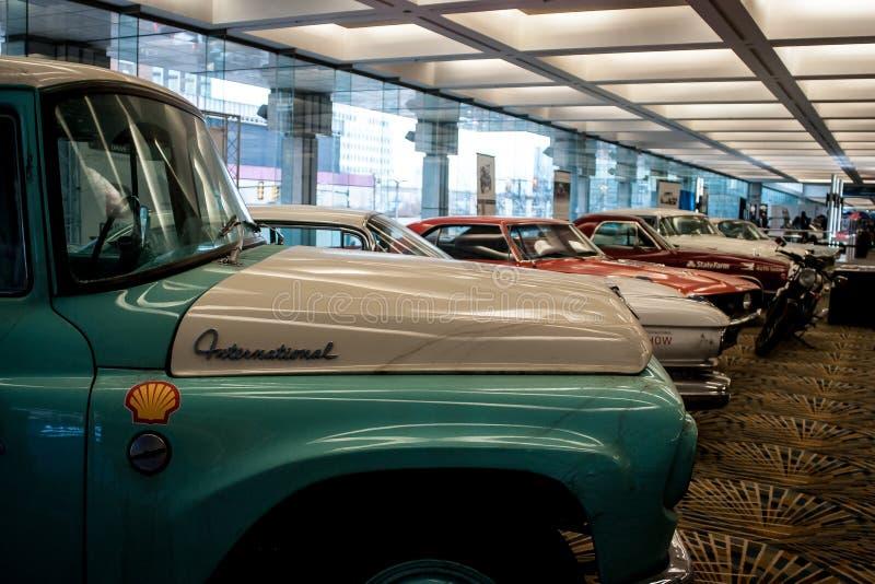 Salon de l'Auto 2018 international nord-américain photo stock