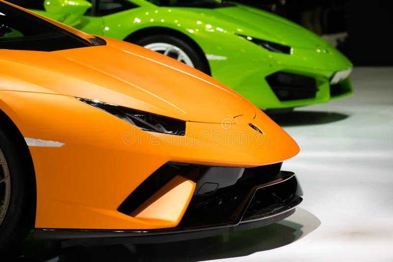 Salon de l'Automobile international de Bangkok 2017 images stock