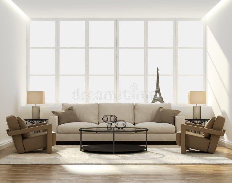 Salon de luxe élégant classique chic image libre de droits