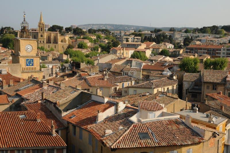Salon de Provence stock photography