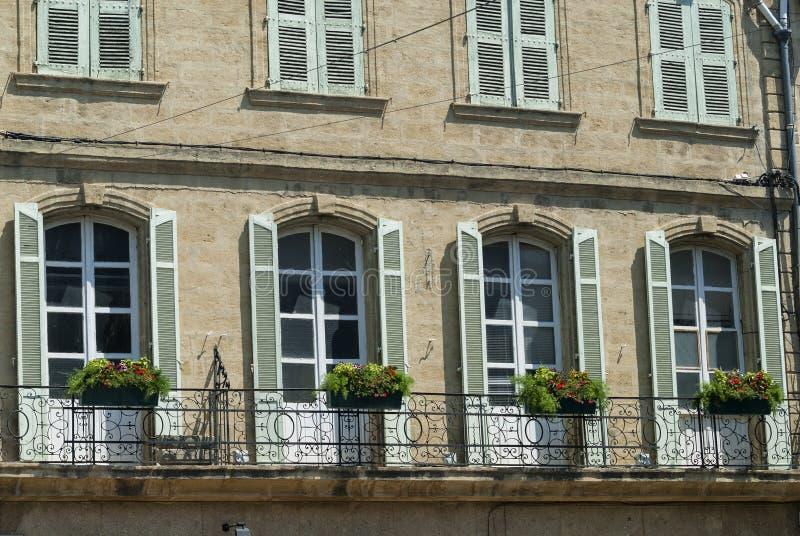 Salon de Provence (Francia): palazzo storico immagini stock
