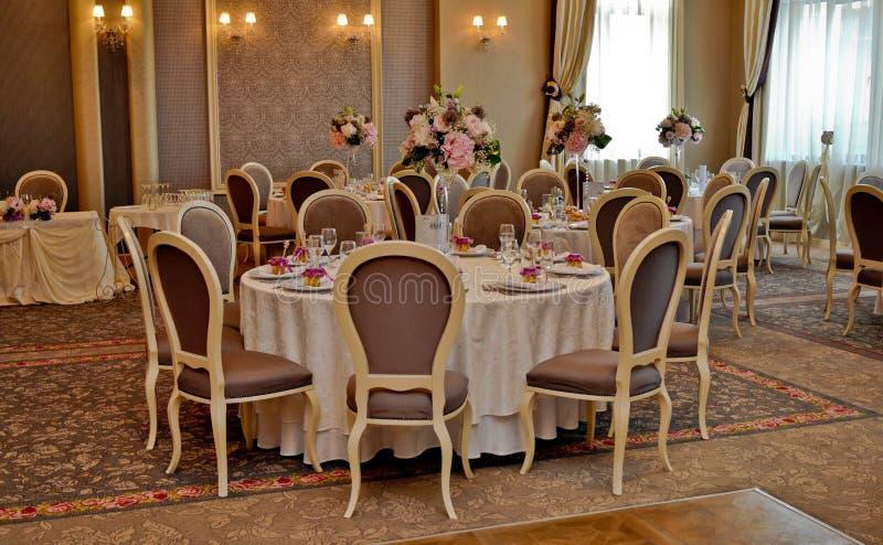 Salon de restaurant images stock