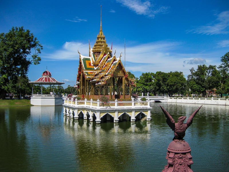 Salon de thé royal en Thaïlande image stock