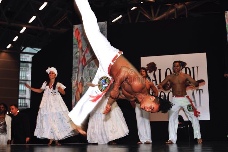 SALON DU CHOCOLAT 2008 photo libre de droits