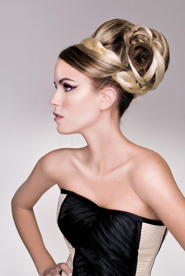 Free Salon Fashion Hair Model Royalty Free Stock Photo - 28355785