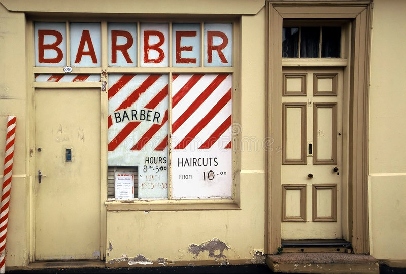 salon fryzjerski zdjęcie royalty free