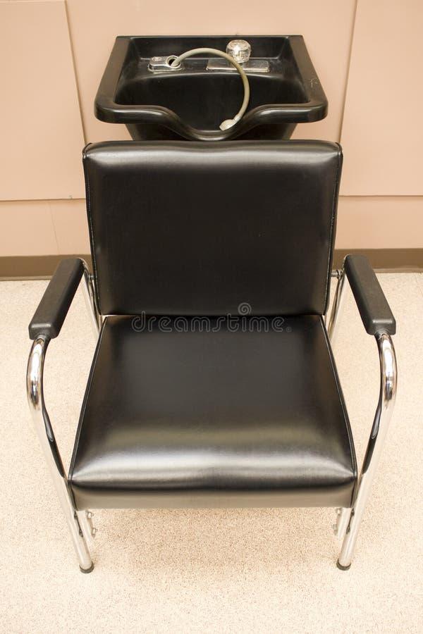 Salon Hair Washing Sink stock image. Image of shop, faucet - 5630003