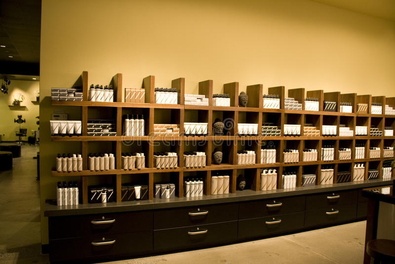 Salon interiors royalty free stock photography