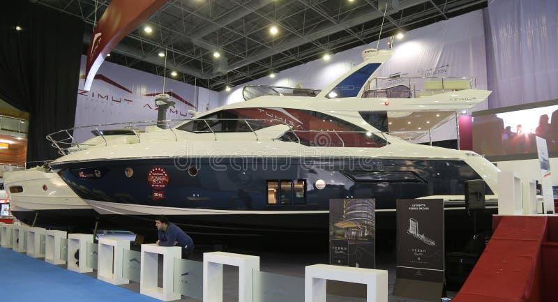 Salon nautique du CNR l'Eurasie image stock