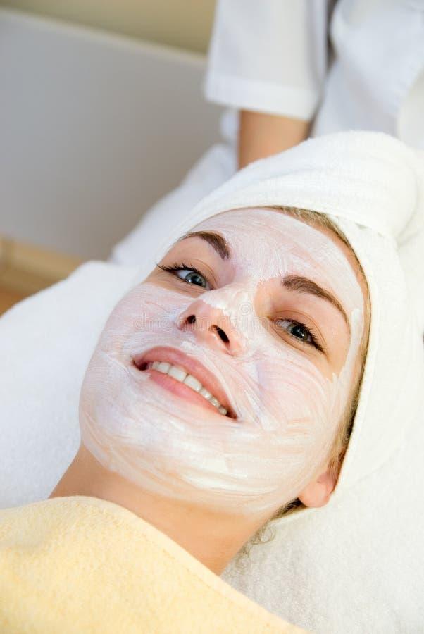 salon spa γυναίκα στοκ φωτογραφίες