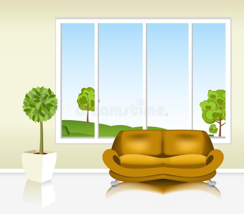 Salone royalty illustrazione gratis