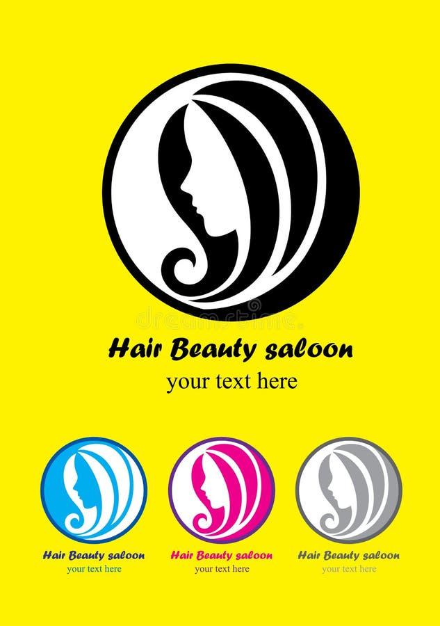 Salone dei capelli di bellezza illustrazione vettoriale