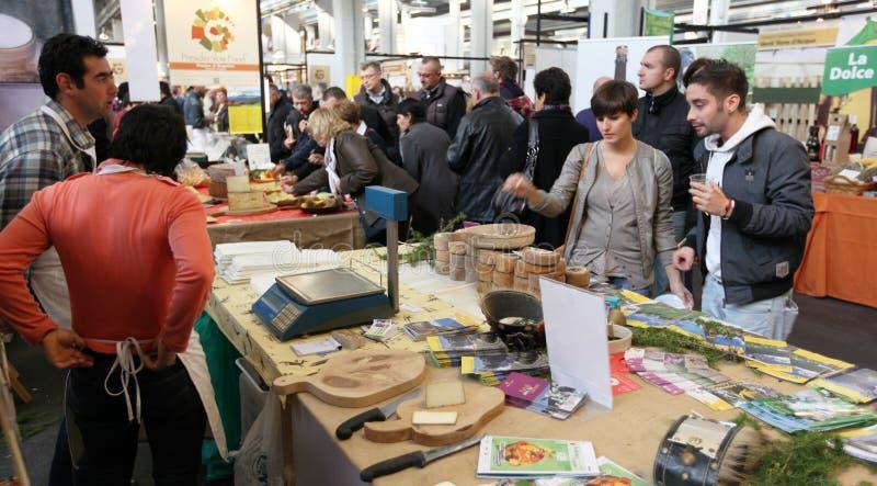 Salone del gusto 2010 fotografia stock libera da diritti