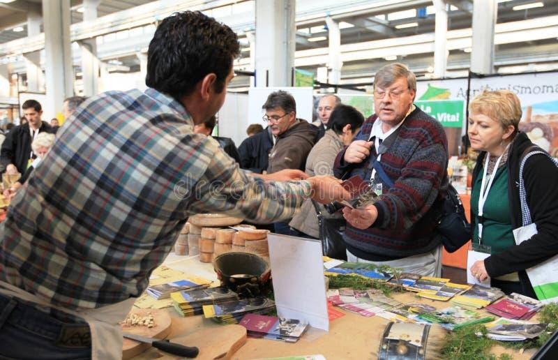 Salone del gusto 2010 immagini stock libere da diritti