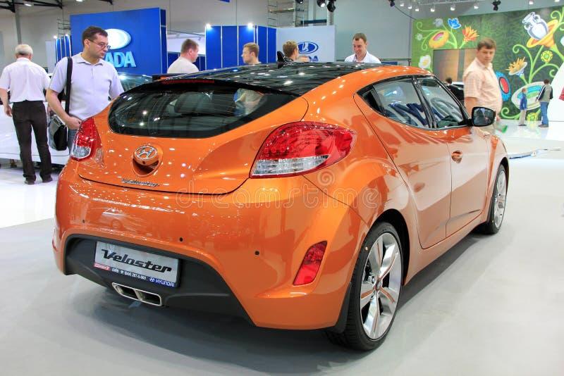 Salone dell'automobile immagini stock