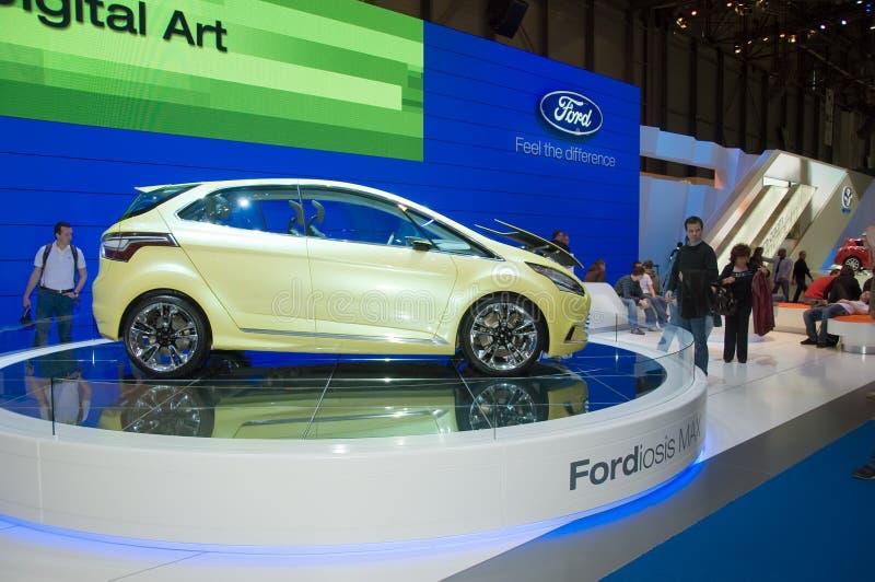 Salone dell'automobile di Ginevra 2009 - Ford Iosis max immagine stock libera da diritti