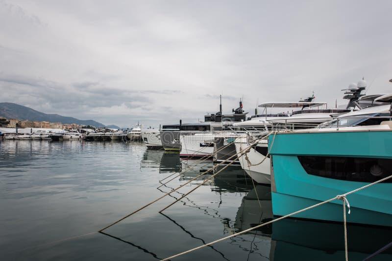 Salone Nautico, Γένοβα, Ιταλία 2017 στοκ φωτογραφίες με δικαίωμα ελεύθερης χρήσης