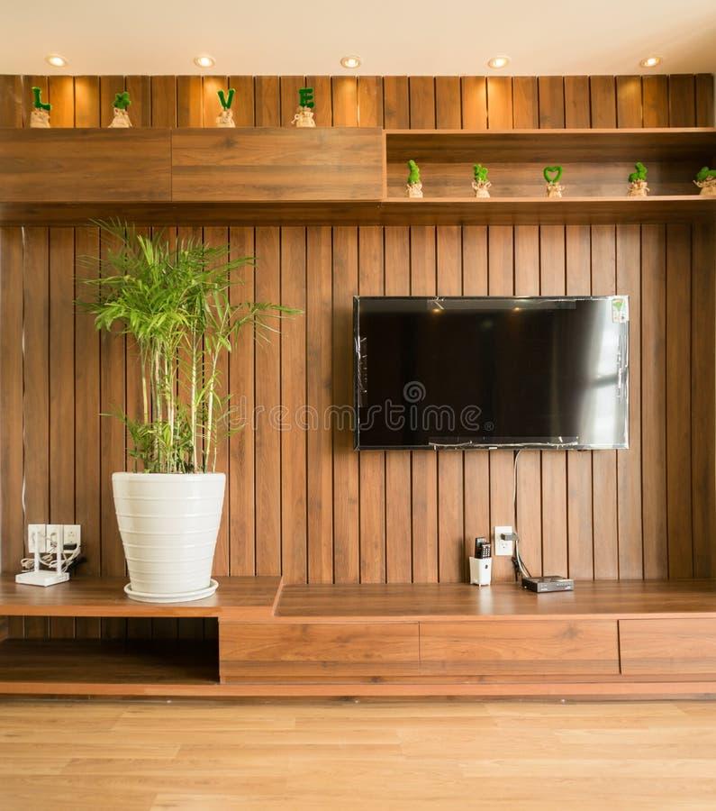 salone nella progettazione della casa di architettura fotografia stock