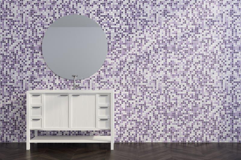 Illustrazione 3d di una camera da letto bianca nello stile for Mattonelle per salone