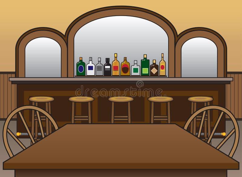 salong stock illustrationer