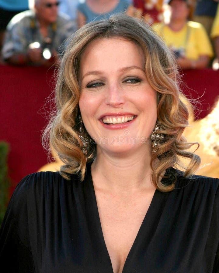 Gillian Anderson royaltyfria foton