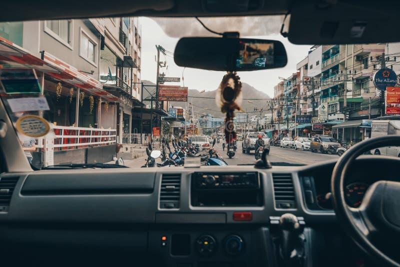 Salongbilchaufför fotografering för bildbyråer