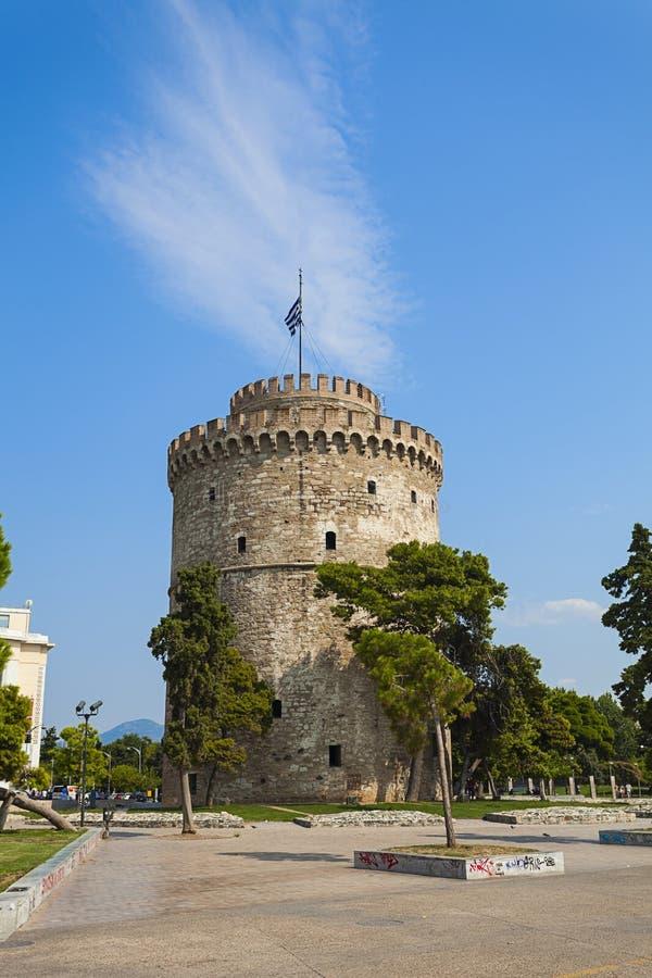 Saloniki miasto, Grecja obraz royalty free