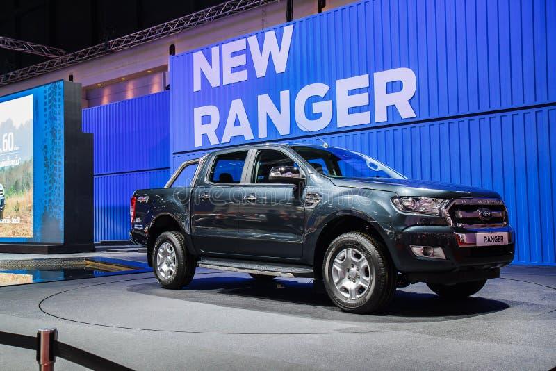 Salons automobiles de Ford Ranger image stock