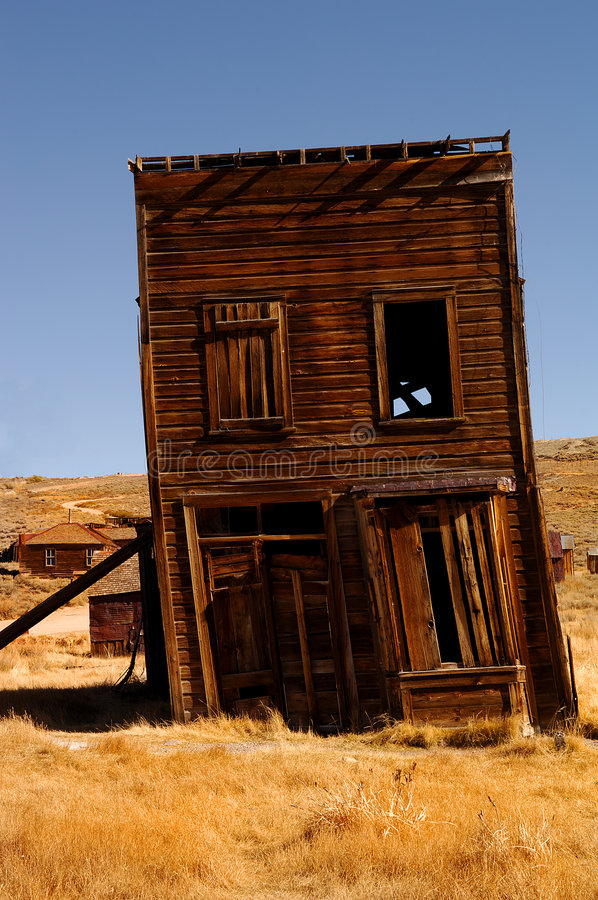 Saloon. Ghost town saloon in Bodie, California royalty free stock photo