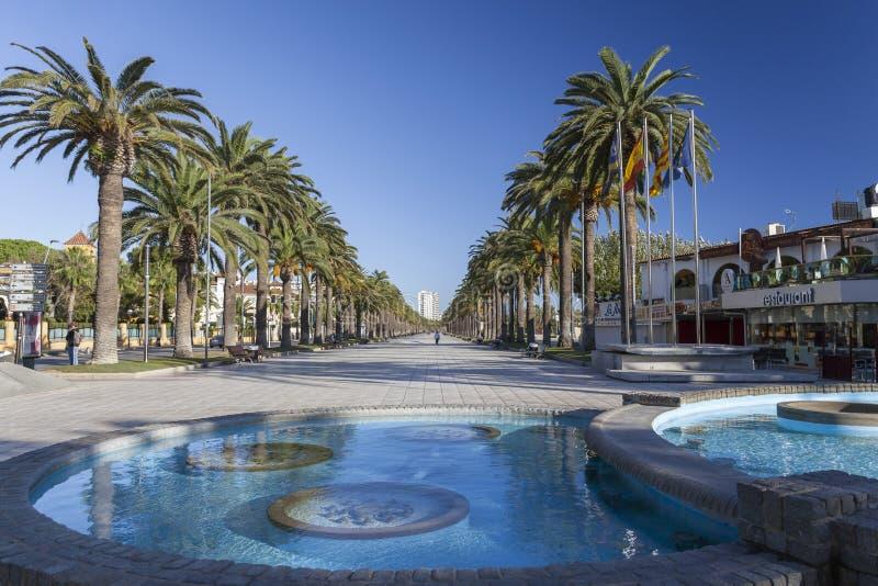 Salou, Каталония, Испания стоковое изображение rf