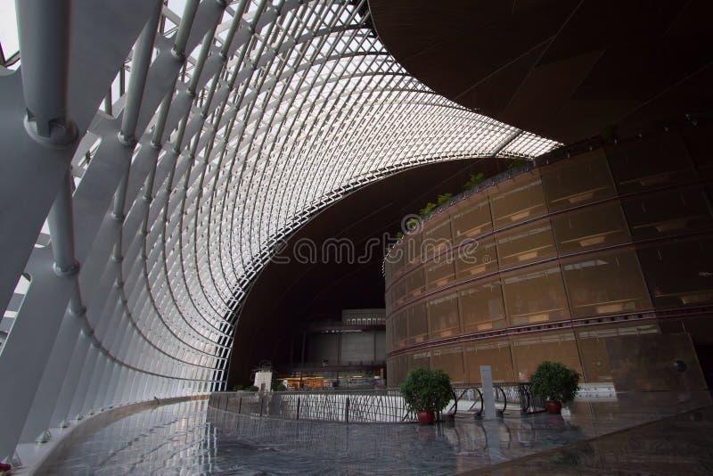 Salowy widok Porcelanowy Krajowy Centre dla przedstawień obraz stock