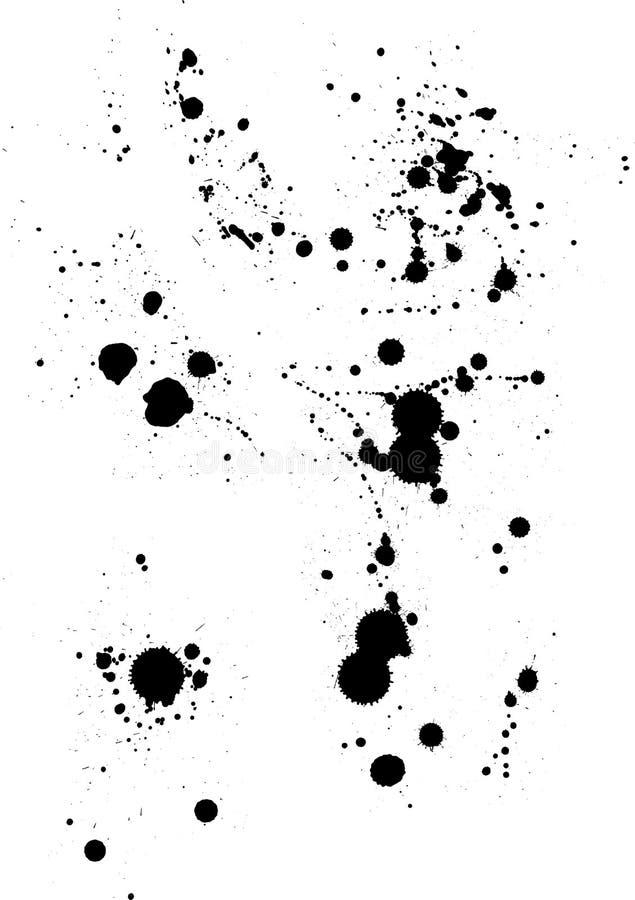 Salpicadura stock de ilustración