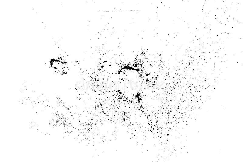 Salpicadura de la tinta de Grunge stock de ilustración