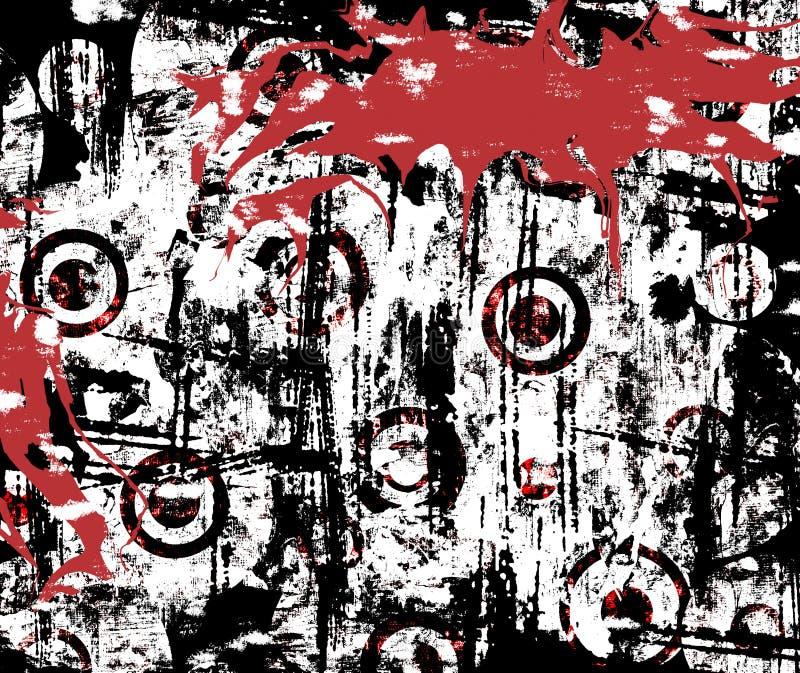 Salpicadura urbana de Grunge libre illustration