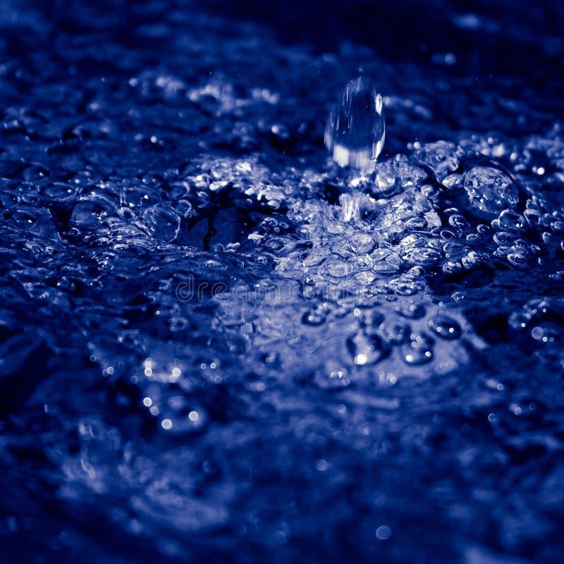 Salpique el agua fotografía de archivo