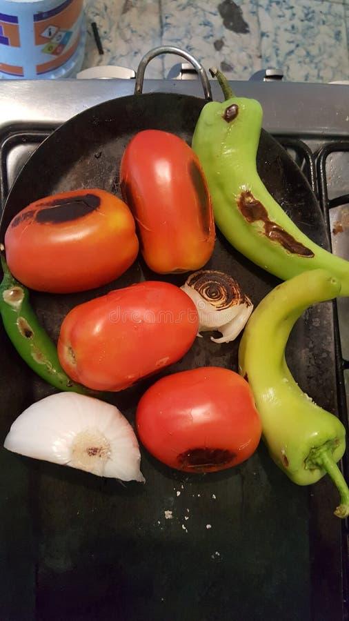 salsa royalty-vrije stock foto
