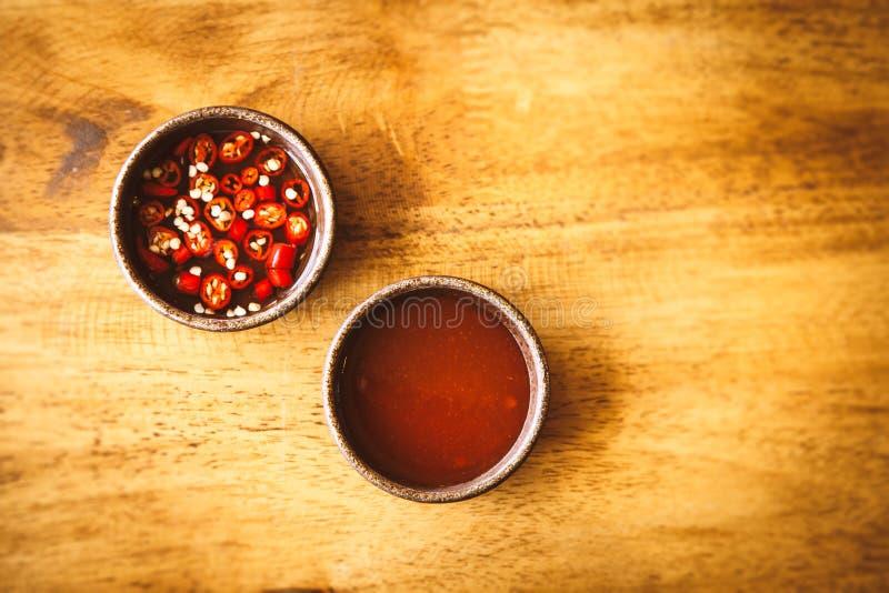 Salsa calda & piccante immagini stock