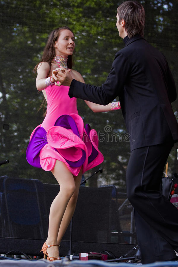 Salsa Dancers Editorial Photo