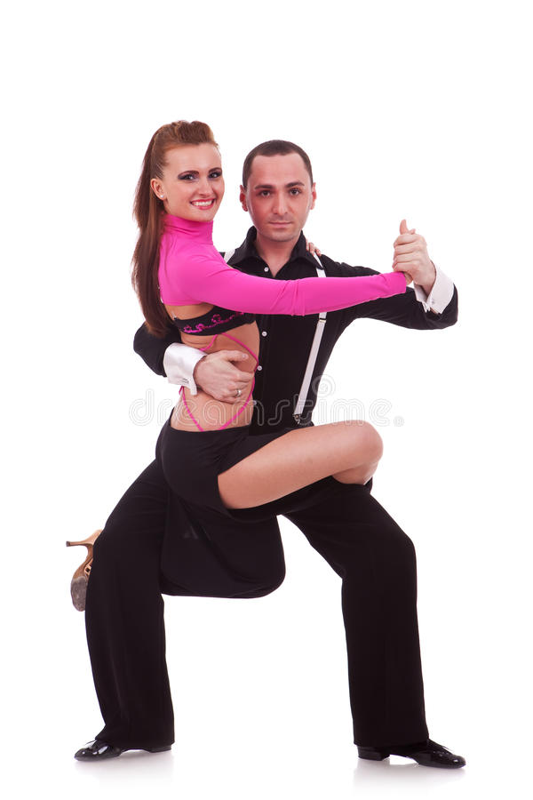 Download Salsa dancers stock photo. Image of leisure, adult, male - 25079054