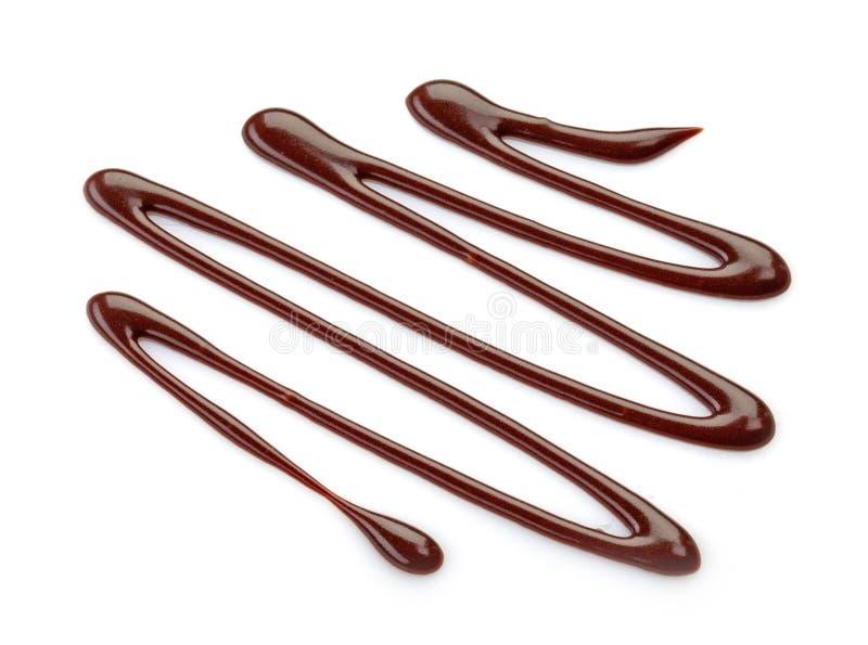 Salsa de chocolate dulce imágenes de archivo libres de regalías