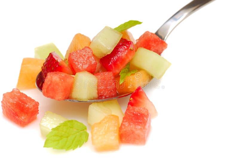 Salsa de fruit frais images libres de droits