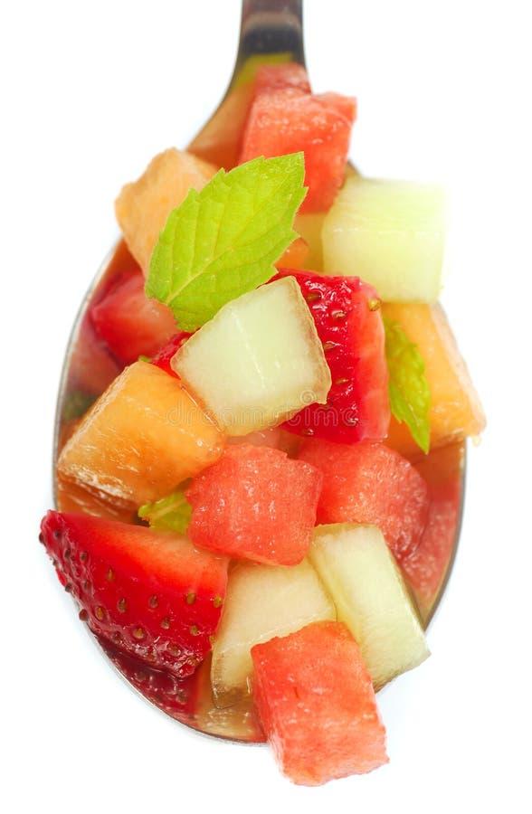 Salsa de fruit frais images stock